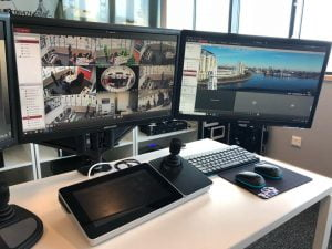 Hikvision Glasgow Control Room