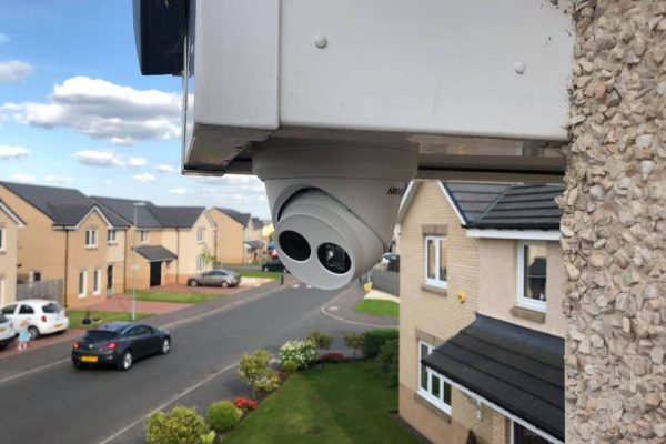 Hikvision Camera Protecting Property