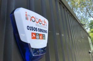 Inotech Visonic Bell Install